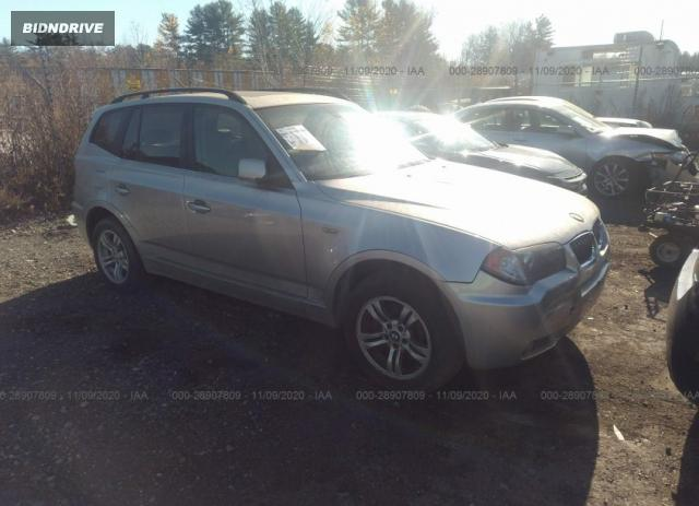 Lot #1615956760 2004 BMW X3 3.0I salvage car