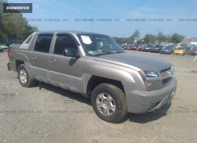 Lot #1615958358 2002 CHEVROLET AVALANCHE salvage car