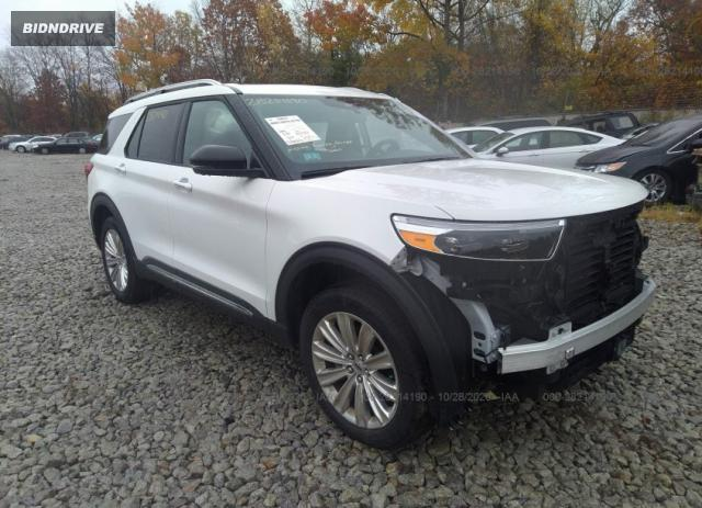 Lot #1615984618 2020 FORD EXPLORER LIMITED salvage car