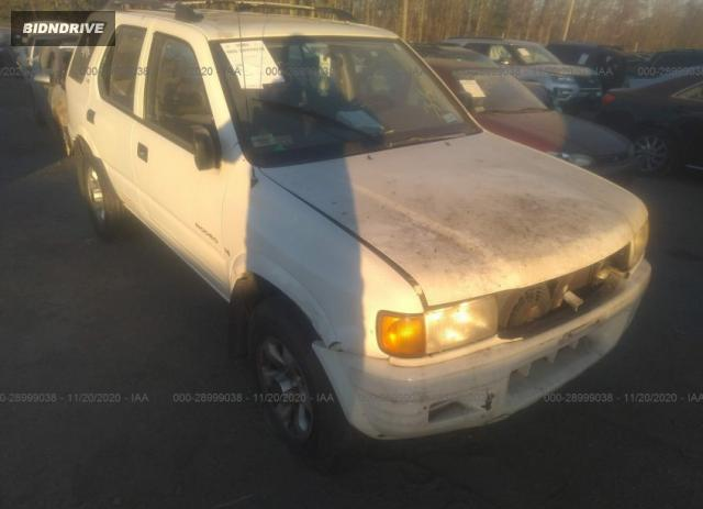 Lot #1616013698 1999 ISUZU RODEO S/LS/LSE salvage car