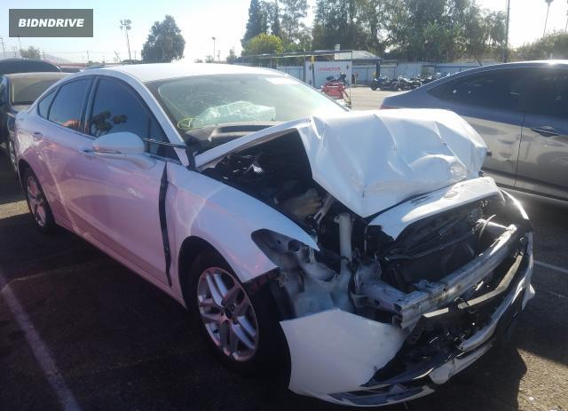 Lot #1617145478 2014 FORD FUSION SE salvage car