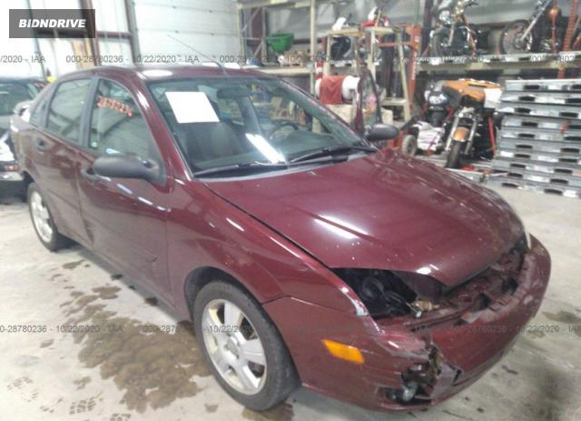 Lot #1617539615 2007 FORD FOCUS S/SE/SES salvage car