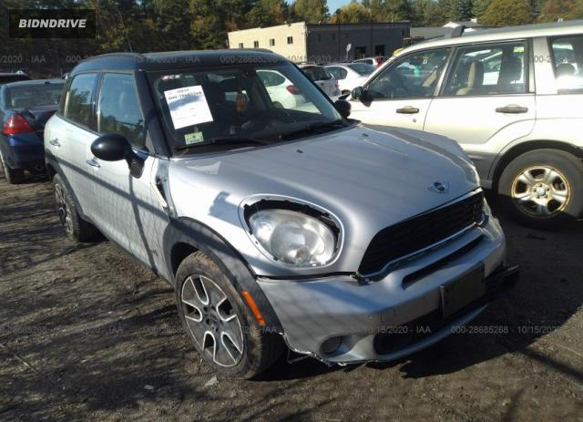 Lot #1617558618 2011 MINI COOPER COUNTRYMAN S salvage car