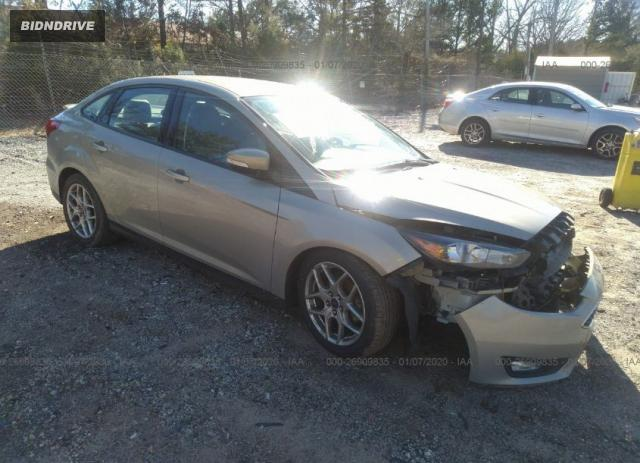 Lot #1618032350 2015 FORD FOCUS SE salvage car