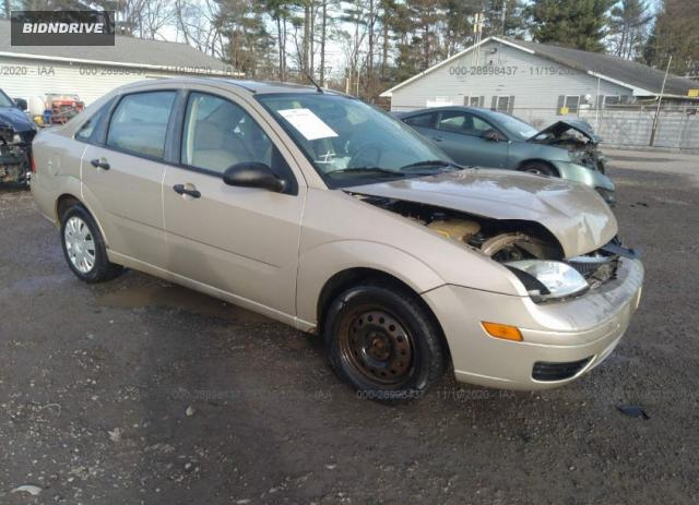 Lot #1618032798 2007 FORD FOCUS S/SE/SES salvage car