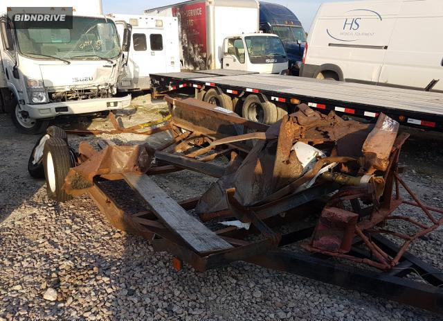 Lot #1618140535 2002 TMAN TRAILER salvage car