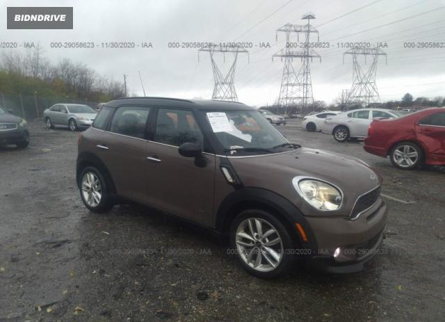Lot #1618561520 2012 MINI COOPER COUNTRYMAN S salvage car