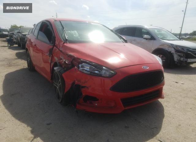 Lot #1618653552 2017 FORD FOCUS ST salvage car