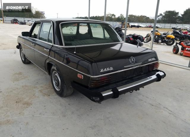 Lot #1618693265 1975 MERCEDES-BENZ 240D salvage car