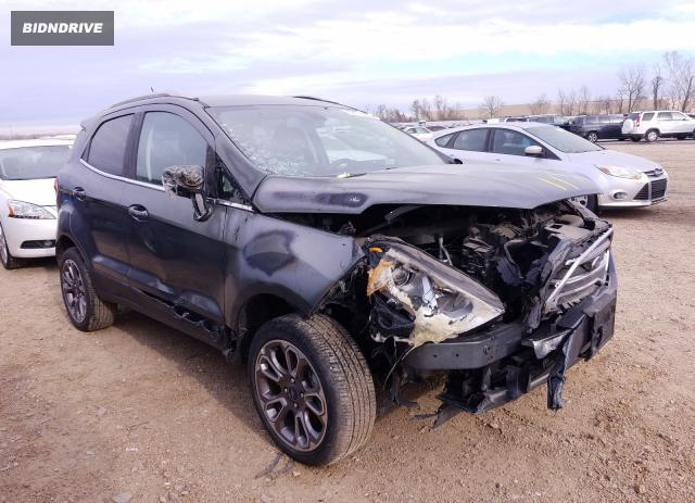 Lot #1619173205 2020 FORD ECOSPORT T salvage car