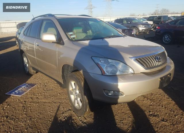 Lot #1621378118 2008 LEXUS RX 350 salvage car