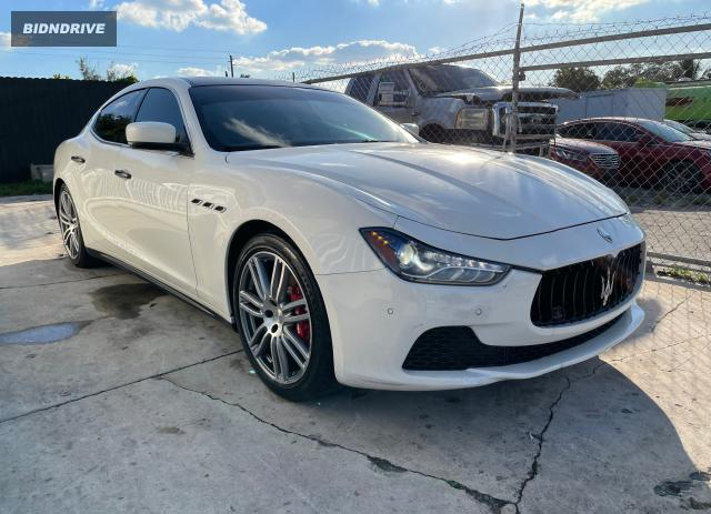 Lot #1623086775 2014 MASERATI GHIBLI S salvage car