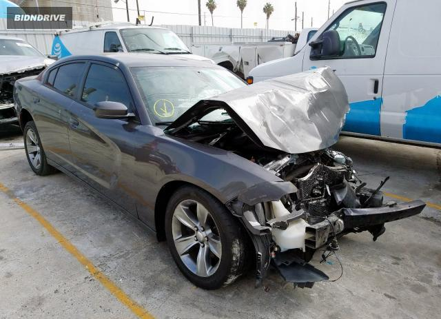 Lot #1626473022 2016 DODGE CHARGER SX salvage car