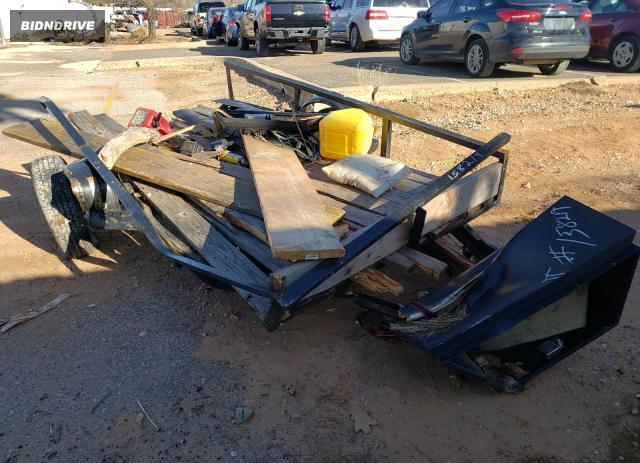 Lot #1626843882 2001 UTILITY TRAILER salvage car