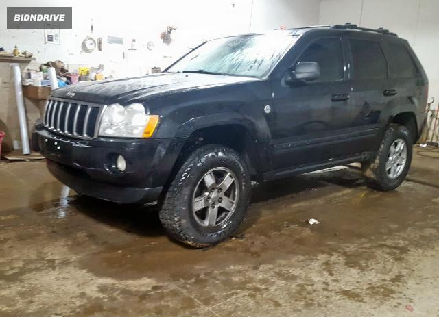 Lot #1626883778 2005 JEEP GRAND CHER salvage car