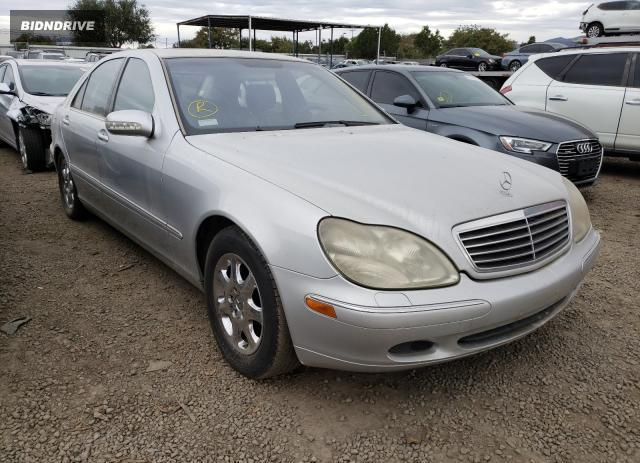 Lot #1632757015 2001 MERCEDES-BENZ S 500 salvage car
