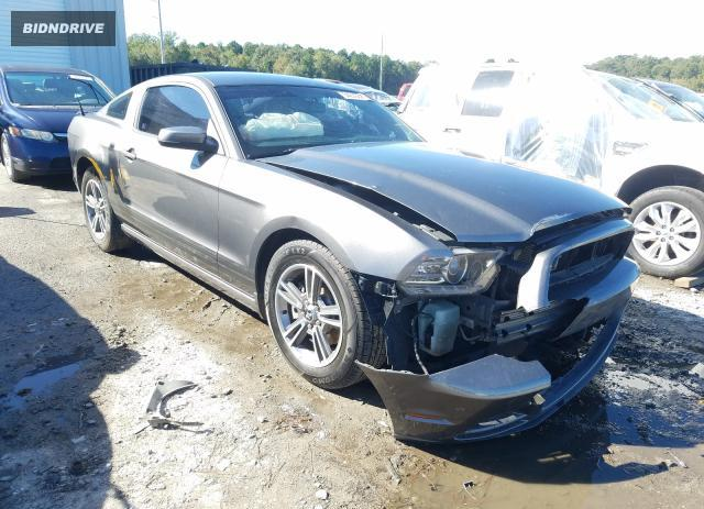 Lot #1632762218 2013 FORD MUSTANG salvage car