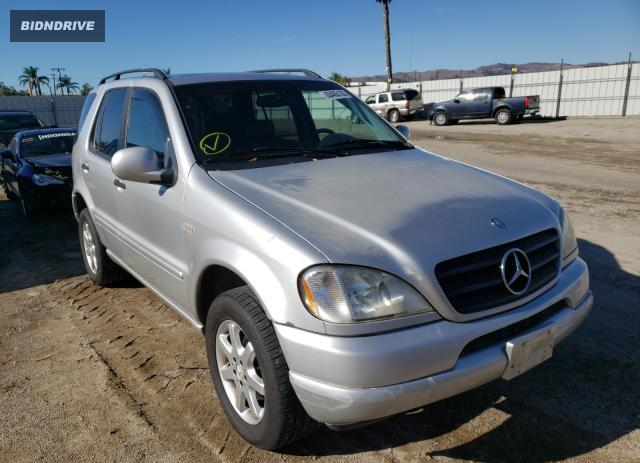 Lot #1633262892 1999 MERCEDES-BENZ ML 430 salvage car