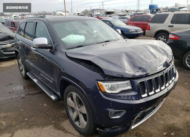 Lot #1635593128 2016 JEEP GRAND CHER salvage car