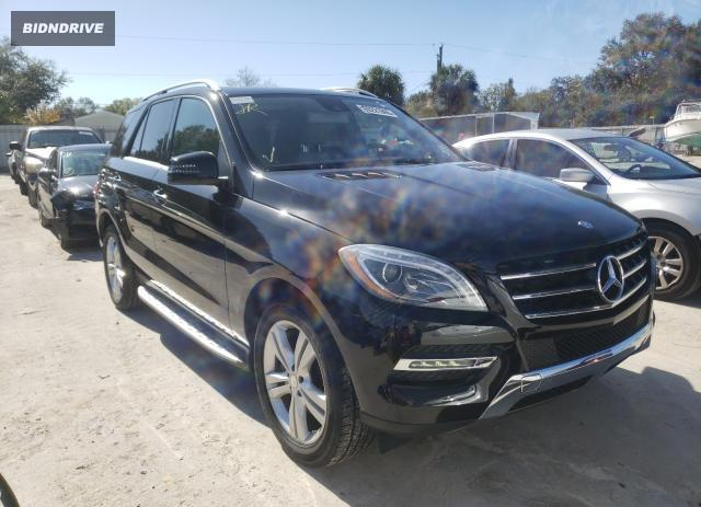 Lot #1635716765 2014 MERCEDES-BENZ ML 350 salvage car