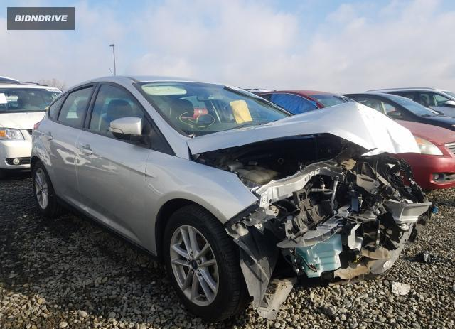 Lot #1636091690 2016 FORD FOCUS SE salvage car