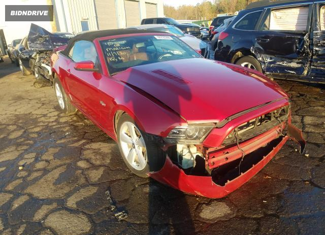 Lot #1636149112 2013 FORD MUSTANG GT salvage car