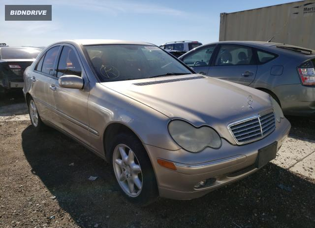 Lot #1636163908 2000 MERCEDES-BENZ C320 salvage car