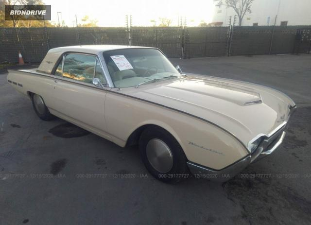 Lot #1636455715 1962 FORD THUNDERBIRD salvage car