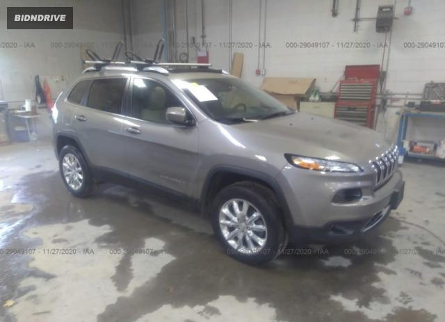 Lot #1636463975 2017 JEEP CHEROKEE LIMITED salvage car