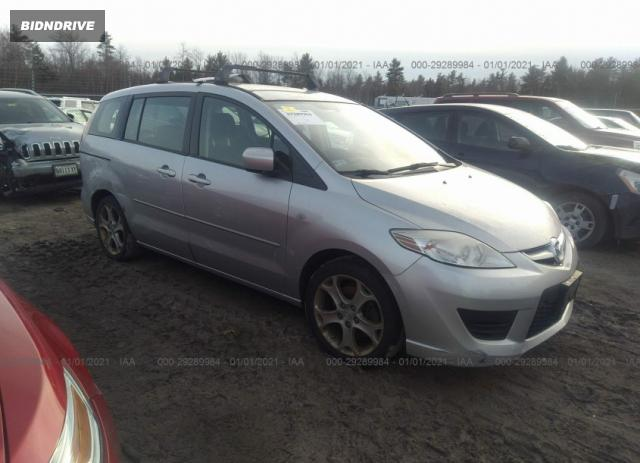 Lot #1636468375 2009 MAZDA MAZDA5 SPORT salvage car