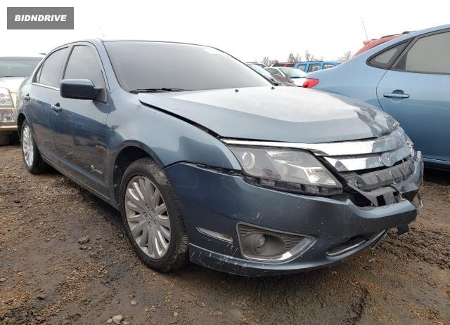Lot #1636541702 2012 FORD FUSION HYB salvage car