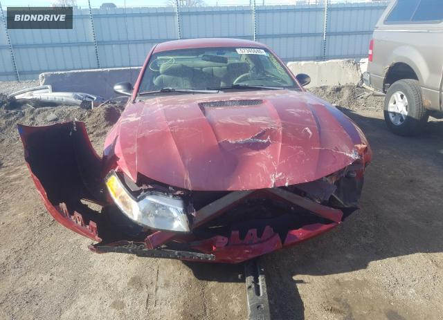 Lot #1636615355 2001 FORD MUSTANG salvage car