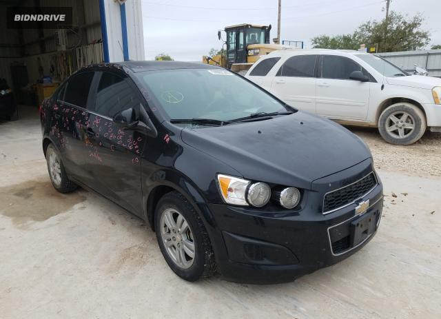 Lot #1637096402 2015 CHEVROLET SONIC LT salvage car