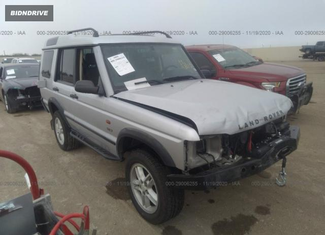 Lot #1637434218 2003 LAND ROVER DISCOVERY SE salvage car