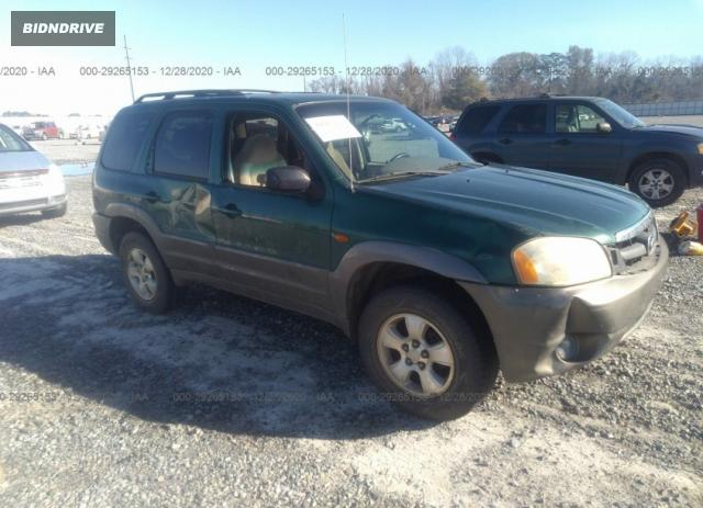 Lot #1637436242 2001 MAZDA TRIBUTE LX/ES salvage car