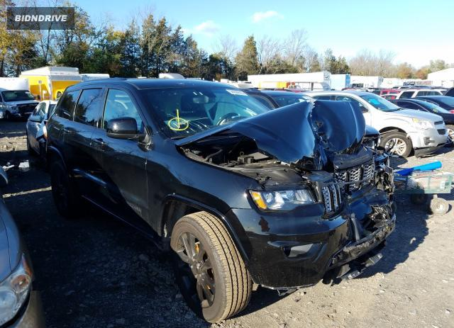 Lot #1637576608 2019 JEEP GRAND CHER salvage car