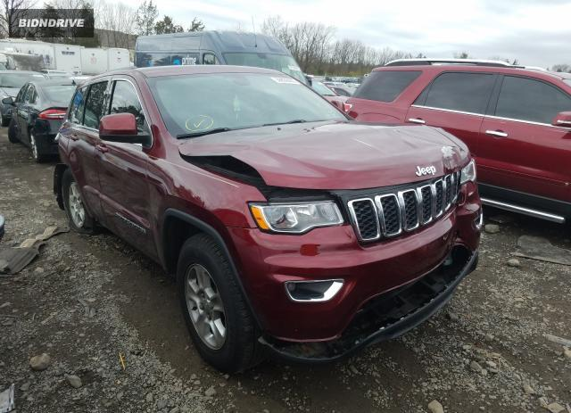 Lot #1637576625 2017 JEEP GRAND CHER salvage car
