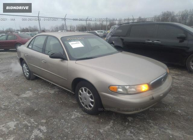 Lot #1637900012 2003 BUICK CENTURY CUSTOM salvage car