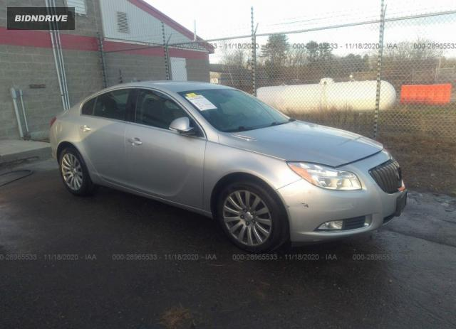 Lot #1637900548 2012 BUICK REGAL BASE salvage car