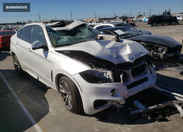 Lot #1639172175 2015 BMW X6 XDRIVE3 salvage car