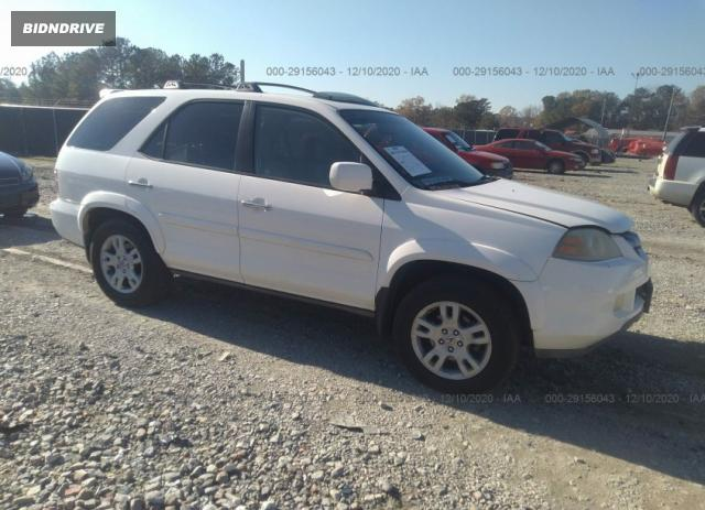 Lot #1639421282 2006 ACURA MDX TOURING RES W/NAVI salvage car