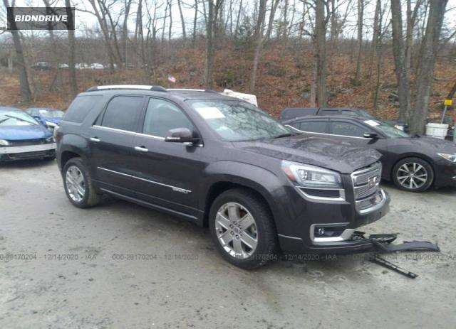 Lot #1639466020 2016 GMC ACADIA DENALI salvage car
