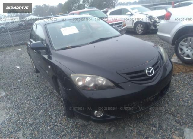 Lot #1639487095 2004 MAZDA MAZDA3 S salvage car