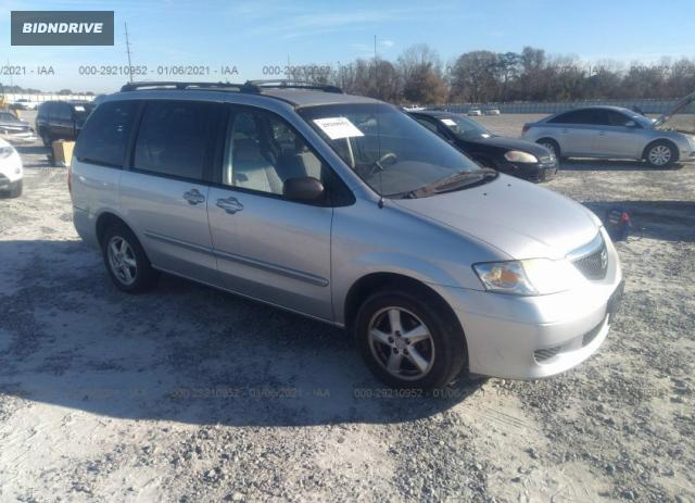 Lot #1639487300 2003 MAZDA MPV LX/ES/LX-SV salvage car