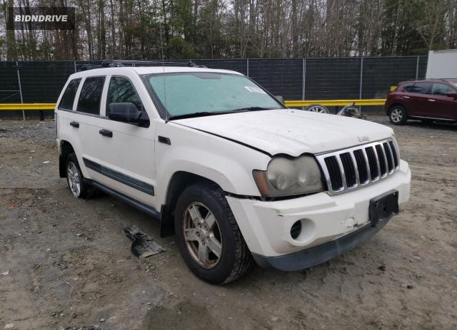 Lot #1639514010 2006 JEEP GRAND CHER salvage car