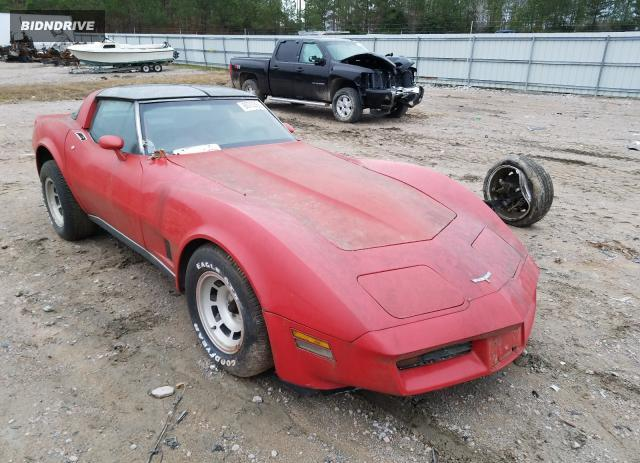 Lot #1639593765 1980 CHEVROLET CORVETTE salvage car