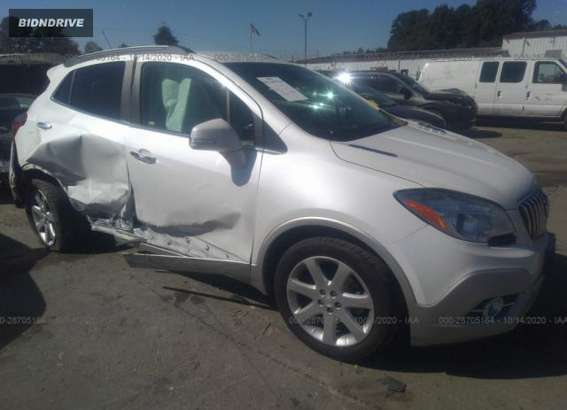 Lot #1639947260 2015 BUICK ENCORE CONVENIENCE salvage car