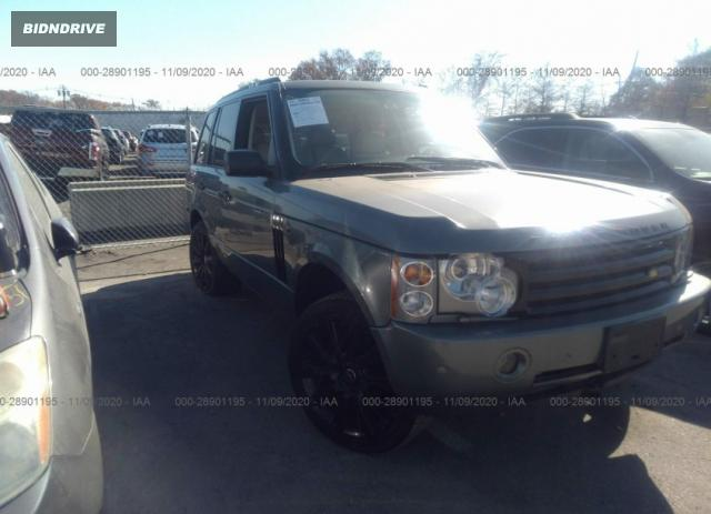 Lot #1639976688 2003 LAND ROVER RANGE ROVER HSE salvage car