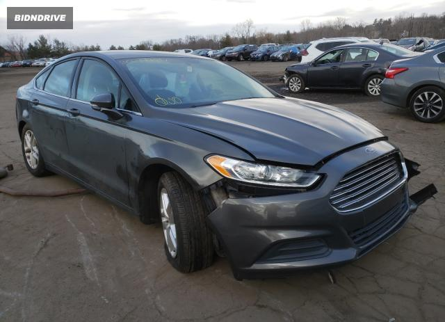 Lot #1640118148 2016 FORD FUSION SE salvage car