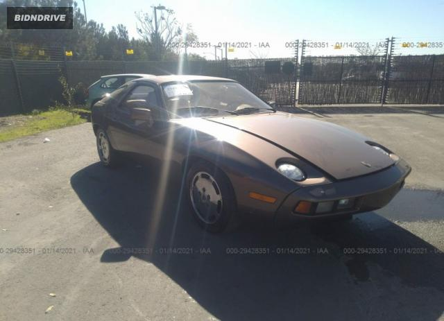 Lot #1641019235 1980 PORSCHE 928 salvage car